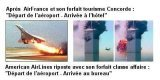 Air France : World Trade Center & Concorde