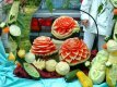 Sculpture sur fruits